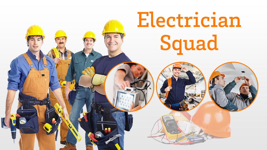 A Picture of our electrical team